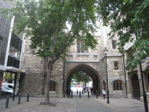 picture of St John's Museum Gateway in Clerkenwell